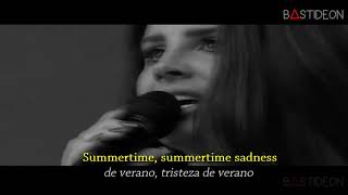 Lana Del Rey - Summertime Sadness (Sub Español + Lyrics)