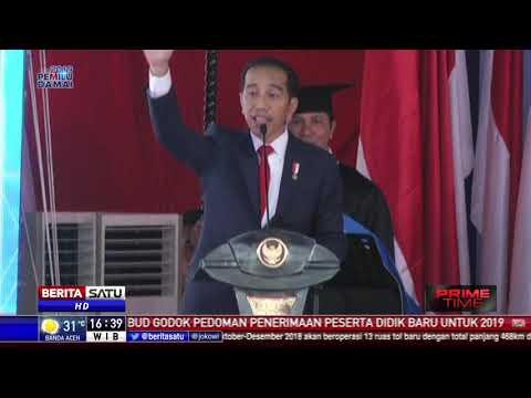 Jokowi Tekankan Pilpres 2019 Kedepankan Pertarungan Ide Dan Gagasan