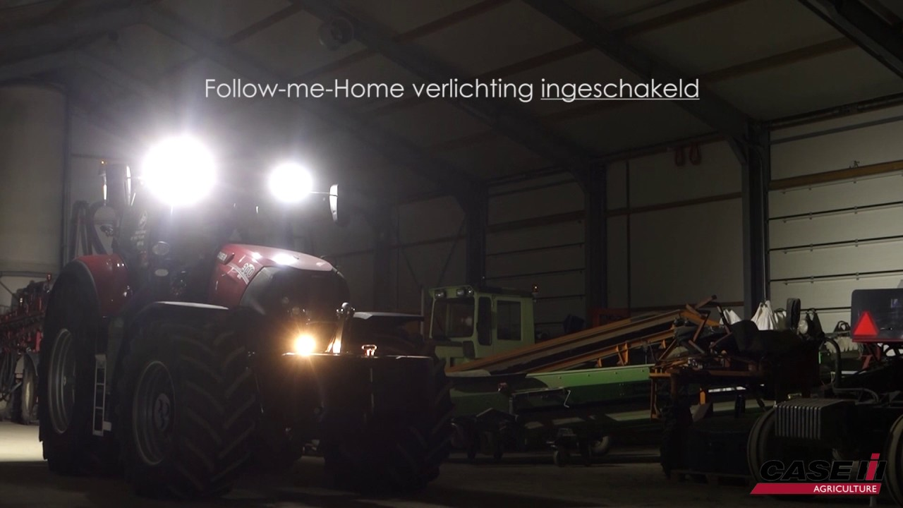 case ih follow me home verlichting veilig thuiskomen youtube. Black Bedroom Furniture Sets. Home Design Ideas