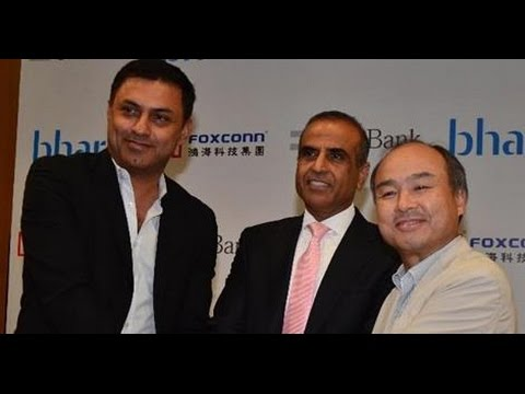 LARGEST JOINT VENTURE: SOFTBANK, BHARTI, FOXCONN FORM JV WORTH $20BN