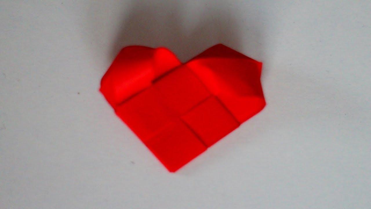 Basteln Mit Papier Herz Für Valentinstag Muttertag Hochzeit Geburtstag W