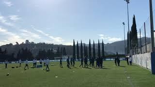 OM : Mandanda, Benedetto, Radonjic et Thauvin absents de l'entraînement collectif