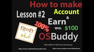 Download lagu How To Create Your Account Old School RuneScape Osbuddy In Urdu Lesson 2 MP3