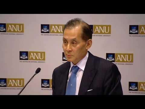 Ambassador of Japan, H.E Takaaki Kojima on Australia-Japan relations. ANU, July 2010
