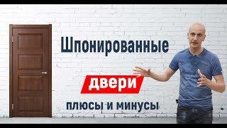 видео Шпонированные межкомнатные ульяновские двери и из массива