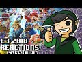 WiiDude83's Reaction to Nintendo E3 - Super Smash Bros Ultimate
