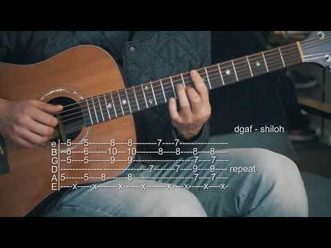 How To Play DGAF - Shiloh - Guitar Tabs