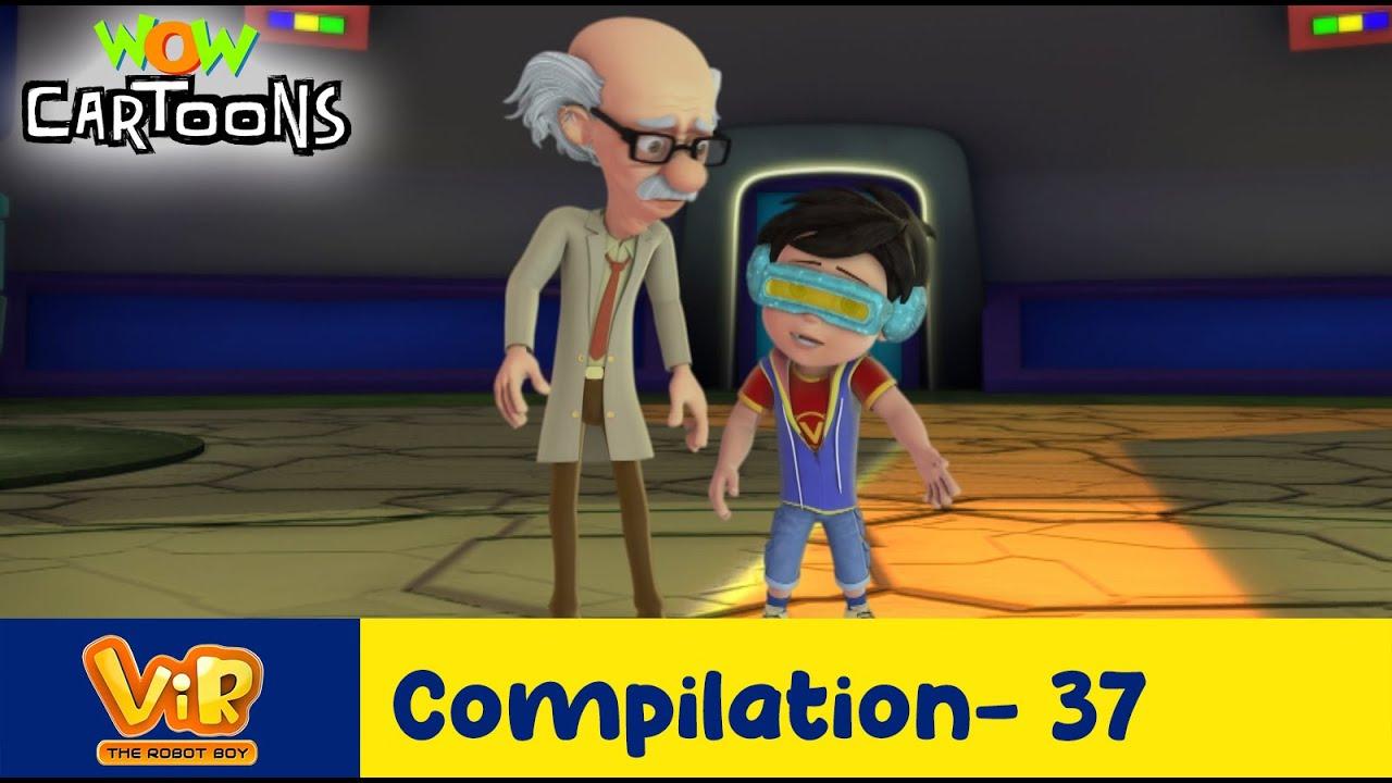 Vir the robot boy | Action Cartoon Video | New Compilation - 37| Kids Cartoons | Wow Cartoons