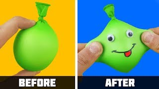 12 Life hacks with Balloons