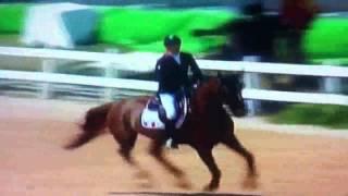 JO 2016 - Equitation passage de l'equipe 2 de France du 16/08/2016