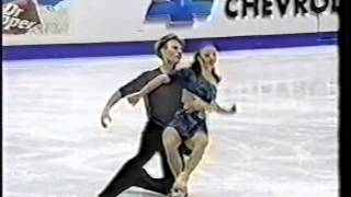 Anna Semenovich & Roman Kostomarov RUS - 2000 World Championships FD