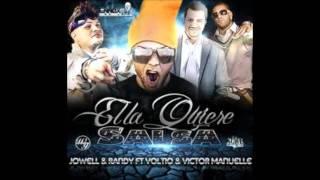 Ella Lo Que Quiere Es Salsa (Ft. Voltio,Jowell & Randy) - Victor  Manuel