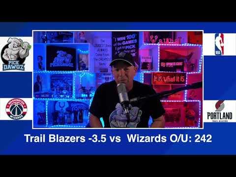 Portland Trail Blazers vs Washinton Wizards 2/20/21 Free NBA Pick and Prediction NBA Betting Tips