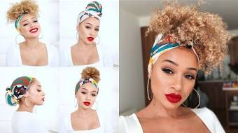How To Tie A Scarf On Natural Hair Tvaction Info