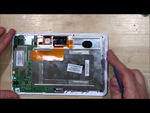 HP Slate 7 1800 Glass/Screen Replacement - Reassembly