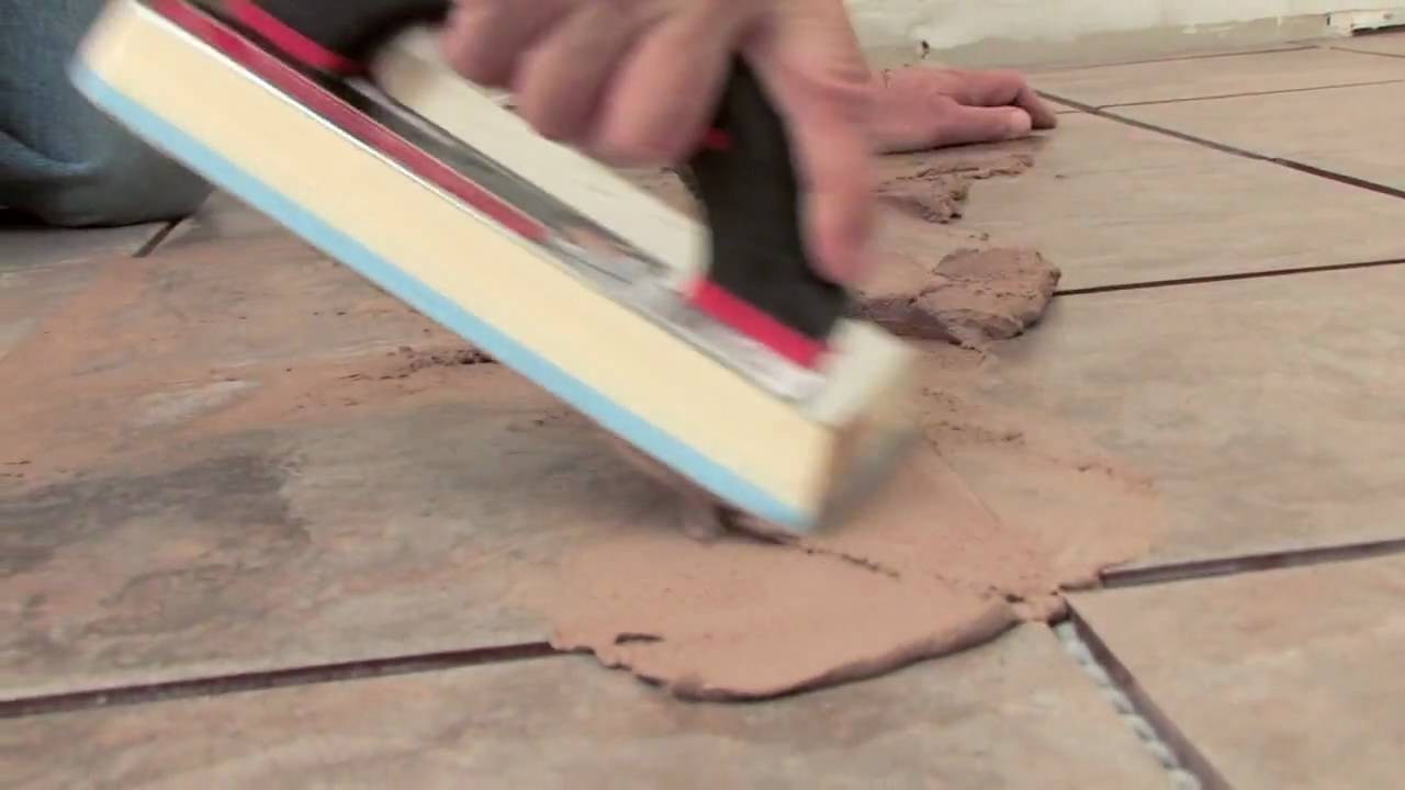 How to floor grout video 2 of 4 youtube dailygadgetfo Gallery