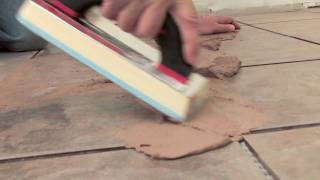 How to Floor Grout Video 2 of 4