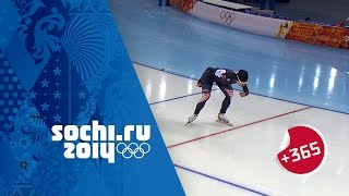 Ladies\' Speed Skating 500m Full Event - Lee Sets Olympic Record | #Sochi365
