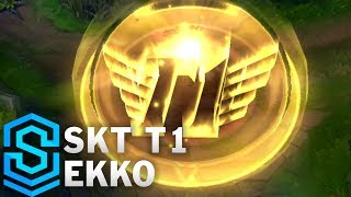 SKT T1 Ekko Skin Spotlight - League of Legends