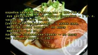 Рецепт отбивных из свинины по-домашнему
