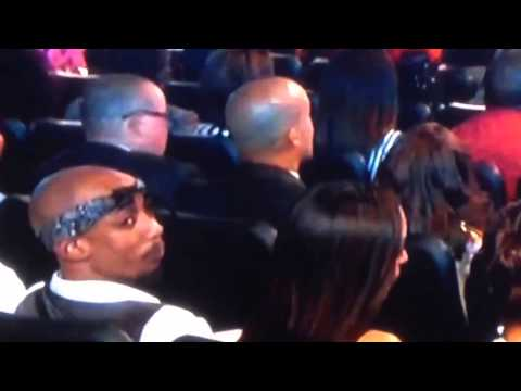 Tupac still alive! 2pac at B.E.T Awards 2014| TUPAC IS ALIVE &  UPCLOSE!