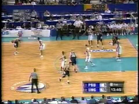 Penn State vs. North Carolina - 2nd Rnd NCAA Tournament 3/18/01