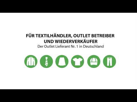 Poppistrong Textilgroßhandel Restposten Kleidung YouTube