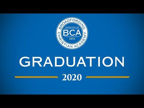 Broadfording Christian Academy Graduation