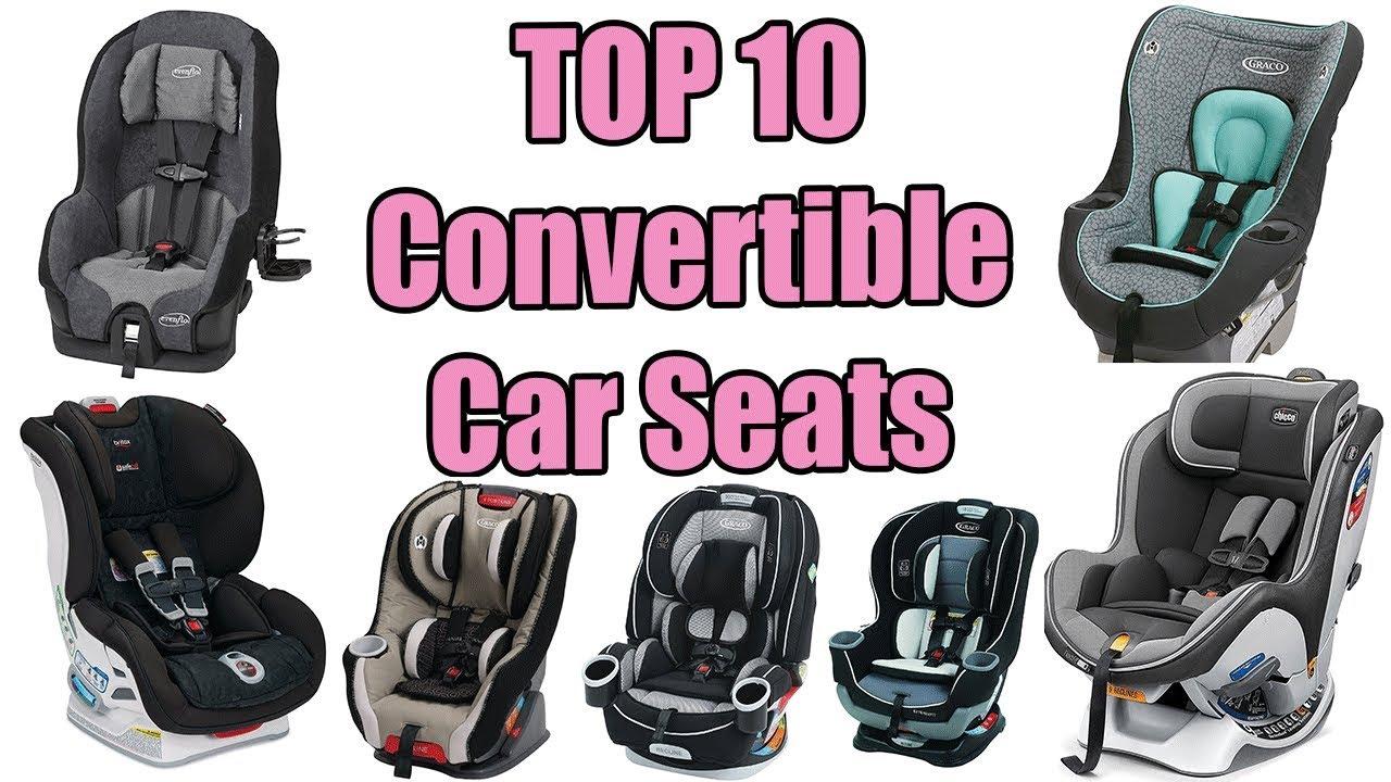 Best Convertible Car Seats 2017 – TOP 10 Convertible Car Seats - YouTube