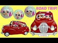 L.O.L. Surprise Dolls Goes on a Road Trip with Lil Sisters