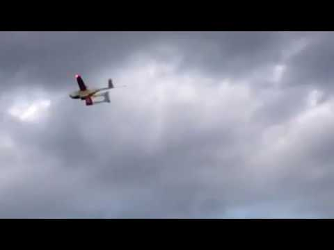 Zipline Drone Makes a Delivery to a Hospital in Rwanda
