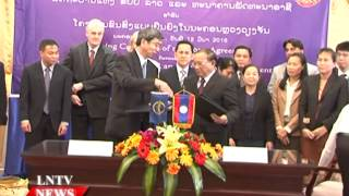 Lao NEWS on LNTV: ADB approves a US$35 million loan to Laos.13/3/2015