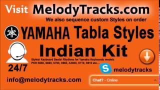 Zara si aahat hoti hai   Yamaha Tabla Styles   Indian Kit    PSR S550, S650, S750, S950, A2000, S710