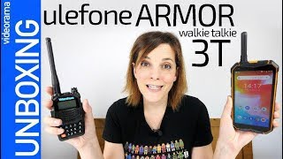 UleFone Armor 3T unboxing -con WALKIE TALKIE integrado-