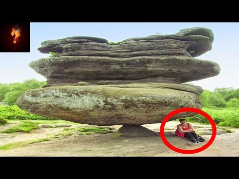 What Balanced The Brimham Rocks?