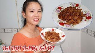 Làm ba rọi rang sả ớt đơn giản cho bữa cơm gia đình