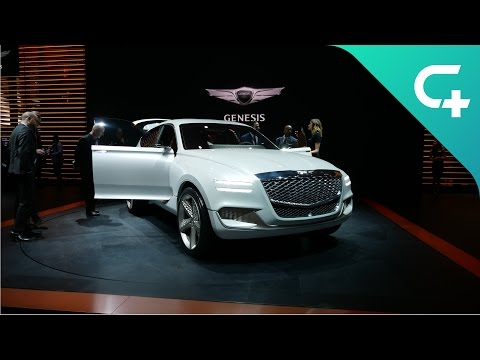 Genesis GV80: This hydrogen-plug-in hybrid is spectacular!
