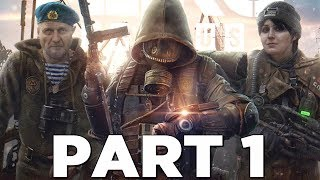 METRO EXODUS Walkthrough Gameplay Part 1 - INTRO (Xbox One X)