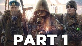 Metro Exodus Walkthrough Gameplay Part 1 - Intro Xbox One X