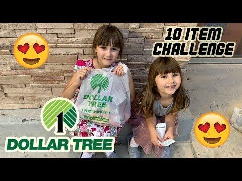 BRITISH KIDS DOLLAR TREE CHALLENGE IN ORLANDO