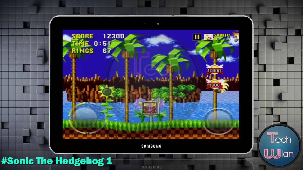 تحميل لعبة sonic the hedgehog للاندرويد