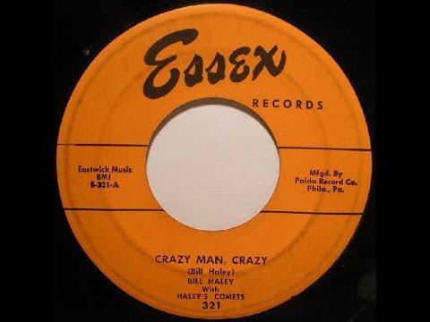 BILL HALEY & HIS COMETS - Crazy Man, Crazy