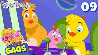 Eena Meena Deeka | New Gags 09 | Funny Cartoons for Kids | Wow Toons