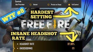 Garena Free Fire World Highest Headshot Rate 90 DANTESWAP JJDSG  WTF HEADSHOTS 8