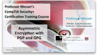 Asymmetric Encryption with PGP and GPG - CompTIA Security+ SY0-301: 6.2