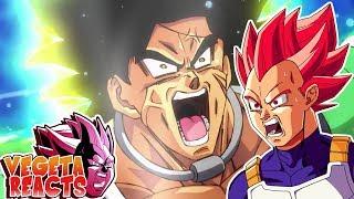 Vegeta Reacts To Dragon Ball Super: Movie Broly Trailer 4
