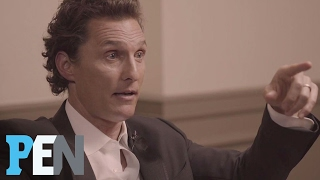 Matthew McConaughey Talks About The Night He Met Wife Camila | PEN | Entertainment Weekly