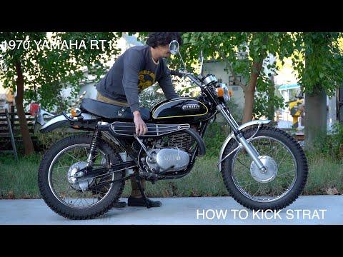 HOW TO START  1970 YAMAHA RT1 エンジン始動がすごく簡単になる方法