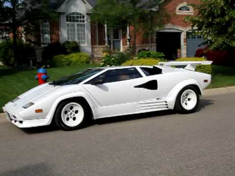 1988 5 lamborghini countach replica departure cambridge. Black Bedroom Furniture Sets. Home Design Ideas