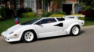 1988.5 Lamborghini Countach Replica departure, cambridge Ontario